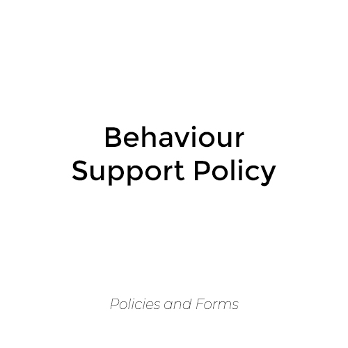 Behaviour Support Policy