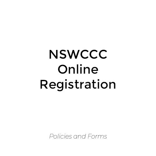 NSWCCC Online Registration